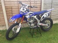 Yamaha yzf 250 ***COSWORTH*** full factory race bike lots of upgrades,not 125 450 ktm crf kxf rmz