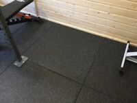 Brand New 1m by 1m gym floor tiles.