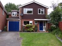 VERY LARGE DOUBLE ROOM TO RENT SINGLE PROFESSIONAL, BILL INC, NEAR FARN TRAIN STATIONS & M3-£675 P/M