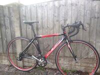 Vitus zenium road bike 49cm 30 speed