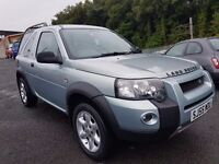 Land Rover Freelander 1.8 Freestyle Hard Top+ MOT JULY 17+FSH+GREAT DRIVER+6 MONTH WARRANTY INCLUDED