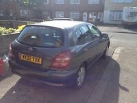 Nissan almera breaking for parts.