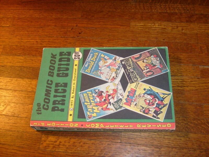 OVERSTREET COMIC BOOK PRICE GUIDE #3, 1973, fine