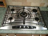Neff gas hob 5 burners