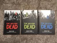 The Walking Dead Graphic Novel Books 1-3