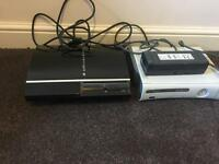 PlayStation 3 fat and Xbox 360