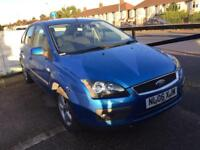 2006 FORD FOCUS 1.6 MANUAL ZETEC CLIMATE PACK LONG MOT EXHAUST BLOWING