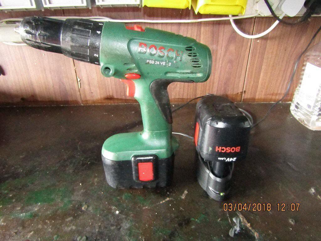 Bosch 24v Cordless Hammer Drill In Bradley Stoke Bristol Gumtree