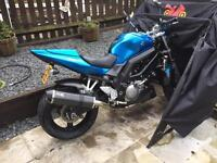For sale my SV 650 excellent condition £2500
