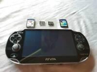 Original PS Vita + games