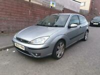 Ford focus 1.8 tcdi limited edition 3 door hatchback