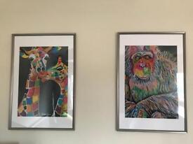 Steven Brown artwork Prints a1 framed