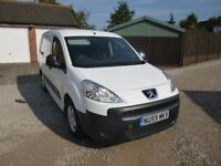 2009 PEUGEOT PARTNER WHITE 11 MONTH M.O.T. CREW CAB WITH 5 SEATS