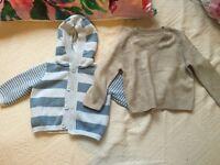 Baby Boy Sweater Cardigan Clothes Bundle 3-6-9 NW6 / Gunnesbury