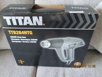 TITAN 2000W HEAT GUN NEVER USED BOX STILL SEALED