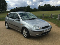 2004 5dr 1.6 Petrol Ford Focus Zetec, low mileage + good condition