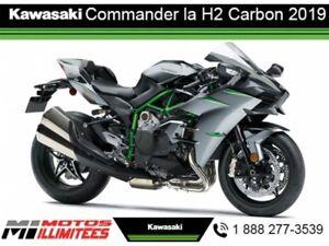 2019 Kawasaki Ninja H2 Carbon Commander la des maintenant