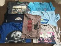 11-12 T-shirt bundle some new