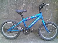 "Childs / Kids / Boys 16"" Ridgeback MX16 Aluminium Mountain Bike"
