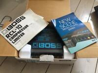 Boss RCL and Boss ROD vintage effects