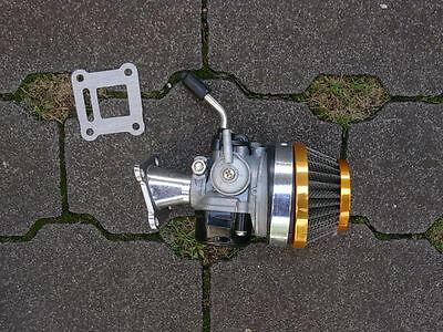 Gebraucht, Tuning Vergaser Dirt Bike Pocketbike Kinderquad Mini Cross Pocket 49 50 cc NEU gebraucht kaufen  Hungen