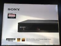 Sony 4K Blu-ray/DVD Player