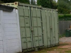 Secure 20 foot steel container to rent in compound in Holbrooks