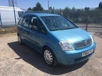 2004 Vauxhall Meriva 1.6 Life