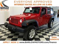 2012 Jeep WRANGLER UNLIMITED Sport 6-speed/softtop/4X4 *Everyone