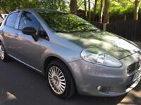 Fiat Punto 2008 1.2L 10 Months MOT & full history