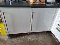 Electrolux integrated fridge and freezer
