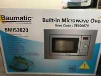 Baumatic built-in microwave oven