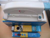 Rexel Book Binder, Challenge A4 Laminator and Asda Rotary Trimmer