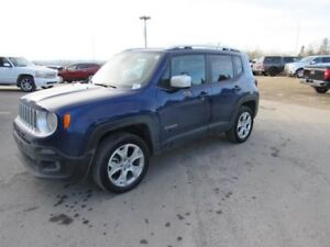 2017 Jeep Renegade Limited 4x4 Leather Nav * THE BAT MAN Drove O