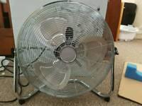 """Large powerful 18"""" Floor fan"""
