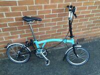 Brompton folding bike City Classic M3L