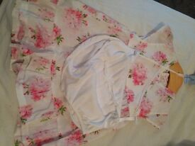 Emile et Rose baby girls outfit. 9 months
