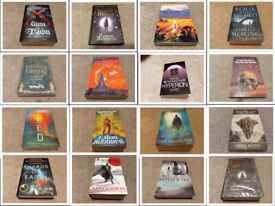 Fantasy & Sci-Fi Books (Various prices and conditions)