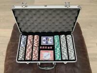 New Poker Chips Set: Professional 11.5g clay composite 300pcs set