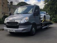 Vehicle collection and delivery transport