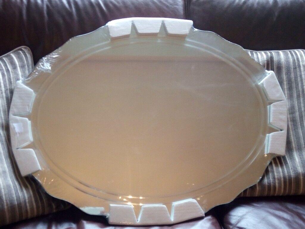 sloegrin Designer Bathroom Mirror with overhead light RRP £145