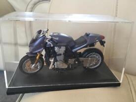 Collectible model motorbike