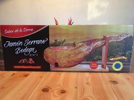 Premium Spanish Serrano Ham