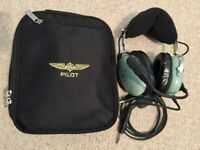 David Clark H10-13.4 Aviation Headset with Zip Case