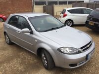 2008 Chevrolet LACETTI 1.6cc—7 months mot,ac,cd,central lock,5 doors,excellent runner,clean car,vgc