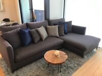 Corner sofa (L-shape) by Camerich - GOOD AS NEW!