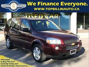 2009 Chevrolet Uplander Only 140K, 2 Years Powertrain Warranty