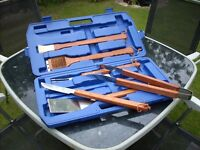 Complete Barbecue Set Still In The Box , A Must For All You Budding chefs.