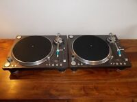 Stanton str-150 direct drive turntables superb condition/technics 1210/1200 alternatives