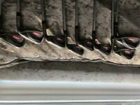 Callaway Razr X Black irons 3-pw